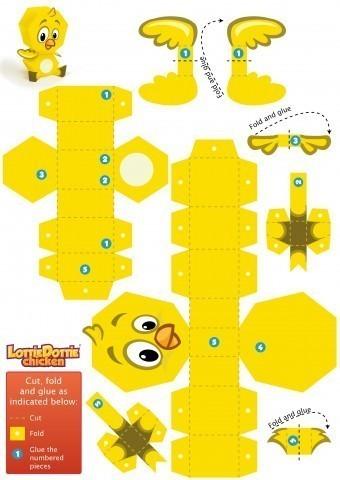 YellowChickadee-PaperToy-01
